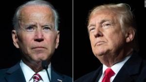 Biden, más popular que Trump en primer abril de mandato