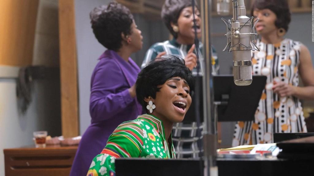 Así se inspiró actriz para interpretar a Aretha Franklin