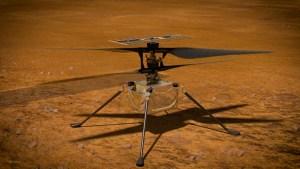 El vuelo del Ingenuity en Marte desde un nuevo ángulo