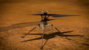 Esta es la imagen de la semana de la NASA desde Marte