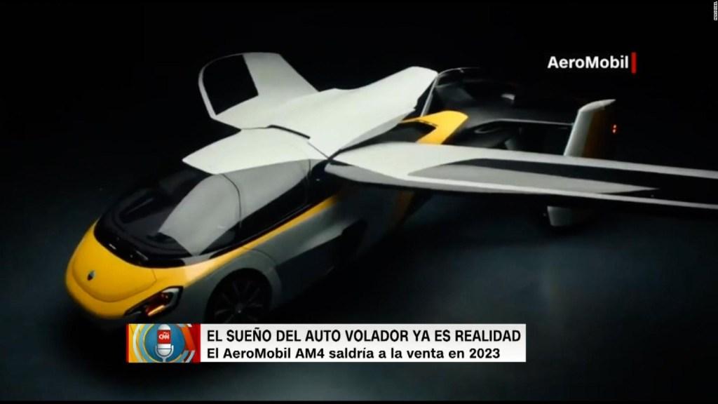 Así es el auto volador que saldría a la venta en 2023