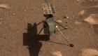 Se mueven las hélices del Ingenuity en Marte