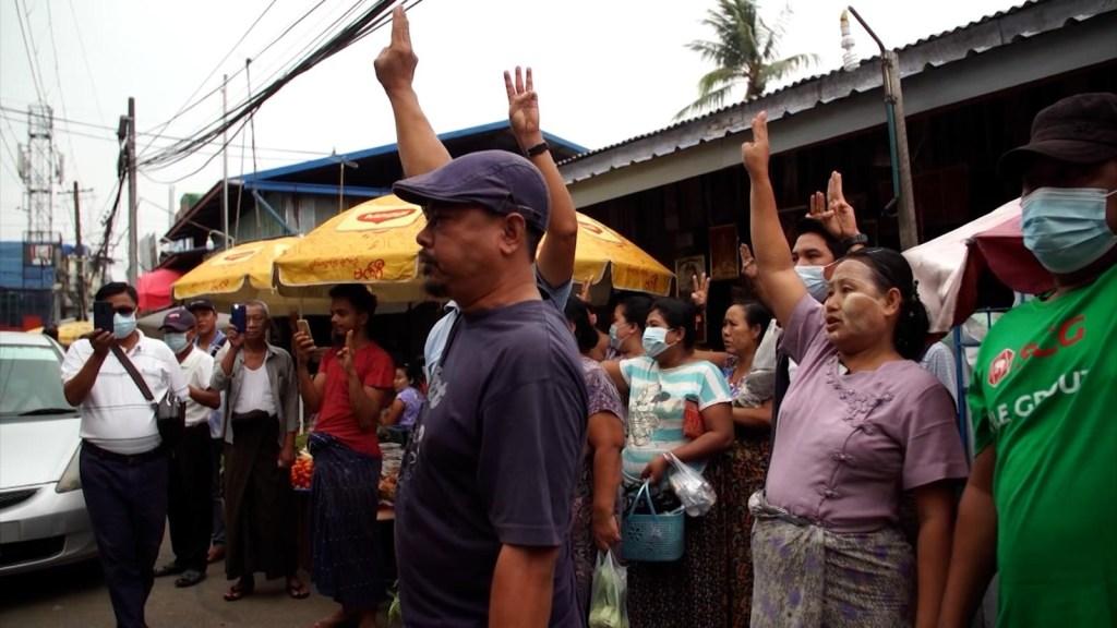 La brutalidad que se está viviendo en Myanmar