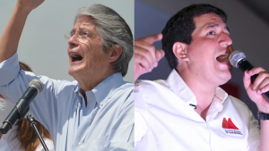 Ecuador elige entre Arauz y Lasso