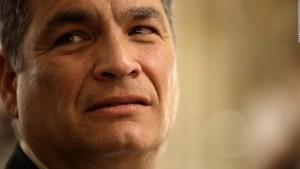 La reacción de Correa ante el triunfo de Guillermo Lasso