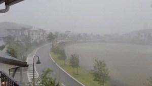 Amenaza de tormenta severa en la Florida