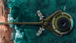 Diseñan hotel flotante con funcionamiento ecológico