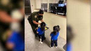 EE.UU.: patrulla fronteriza libera a niñas ecuatorianas