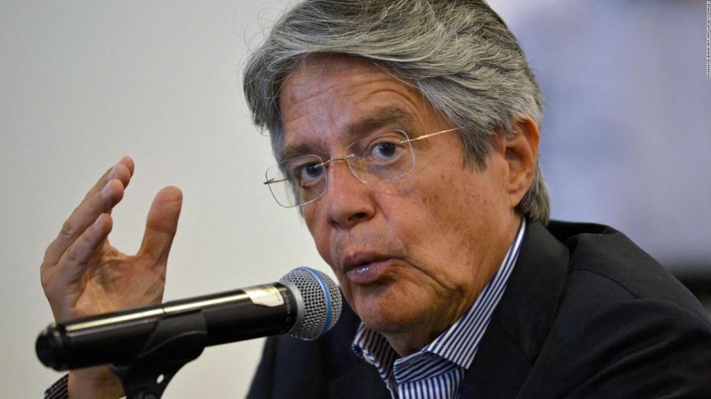 Reacciona Guillermo Lasso a detención de Pablo Celi