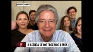 Habla la esposa del presidente electo de Ecuador