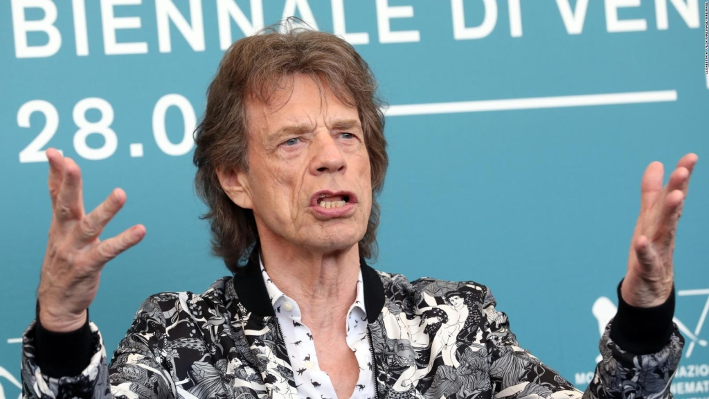 Mick Jagger celebra el fin del confinamiento