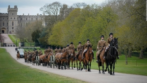 Mira los ensayos del funeral del príncipe Felipe
