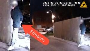 Divulgan video en que policía dispara a Adam Toledo