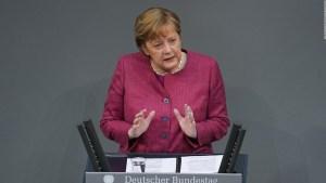 Angela Merkel recibe primera vacuna contra el covid-19