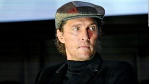 Matthew McConaughey y su estrecha relación con el fútbol