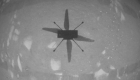Históricas imágenes del vuelo del Ingenuity en Marte