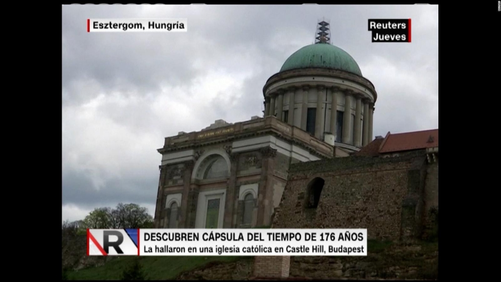 """Hungría: hallan """"cápsula del tiempo"""" de más de 176 años"""