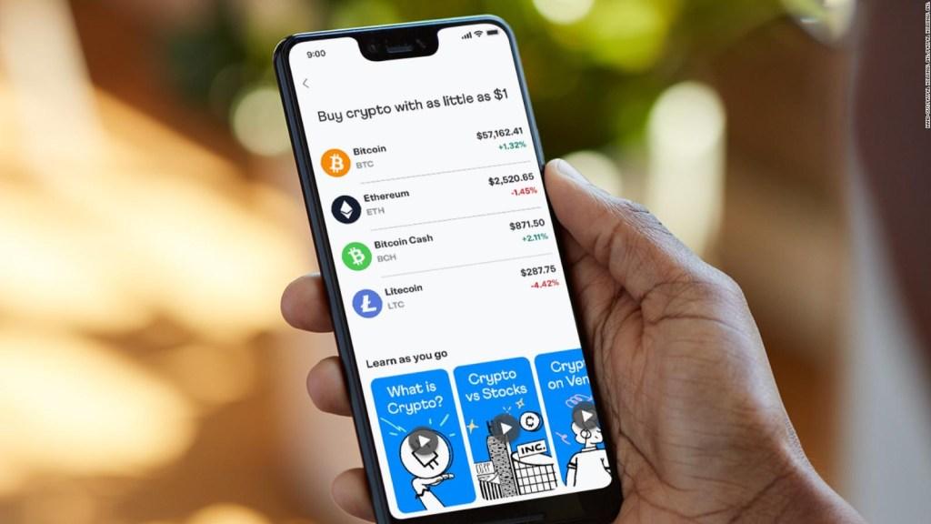Ahora puedes comprar y usar criptomonedas en Venmo