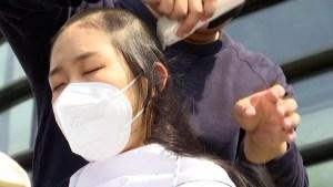 Protesta contra desechos de Fukushima