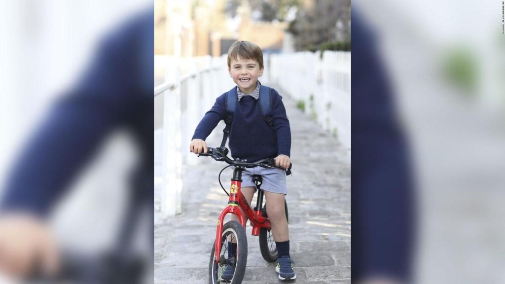 Así celebró el príncipe Luis su tercer cumpleaños