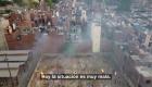 Dron capta las cremaciones masivas en la India