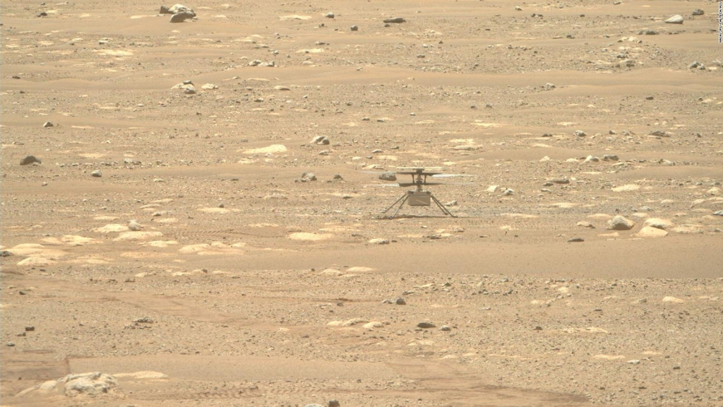 Ingenuity vuela sobre Marte por cuarta vez