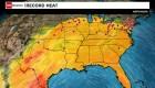 Posibles récords de calor para 100 ciudades de EE.UU.