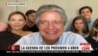 Guillermo Lasso y su familia en Conclusiones con Fernando del Rincón