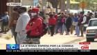Las filas por la comida en Cuba