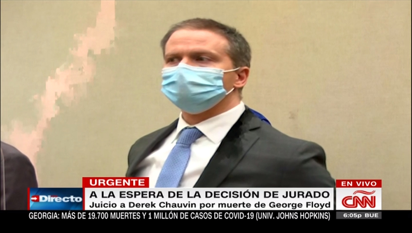 Derek Chauvin, declarado culpable de todos los cargos