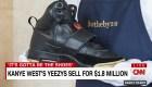 Zapatillas d Kanye West se venden en 1,8 millones de dólares