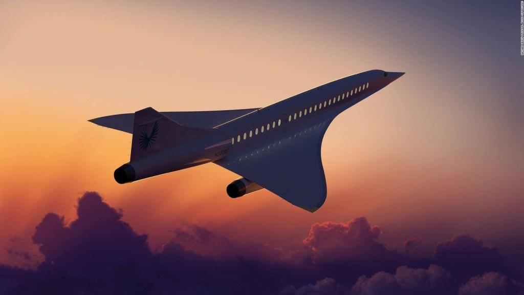 Boom Supersonic apuesta a vuelos supersónicos comerciales