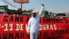 Hondureños exigen vacunas gratis contra el covid-19