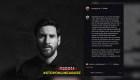 Fuerte mensaje de Leo Messi en las redes