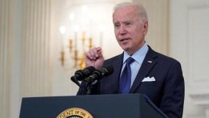 Biden: La FDA anunciará cuándo podrán vacunarse los adolescentes de entre 12 y 15 años