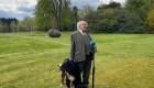Roba la atención perro del presidente de Irlanda en acto