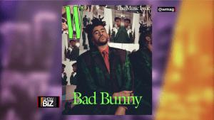 W Magazine pone la mirada en Bad Bunny