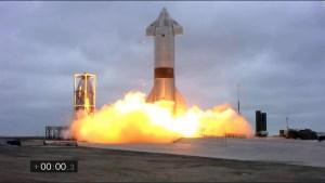 SpaceX aterriza con éxito prototipo de cohete a Marte