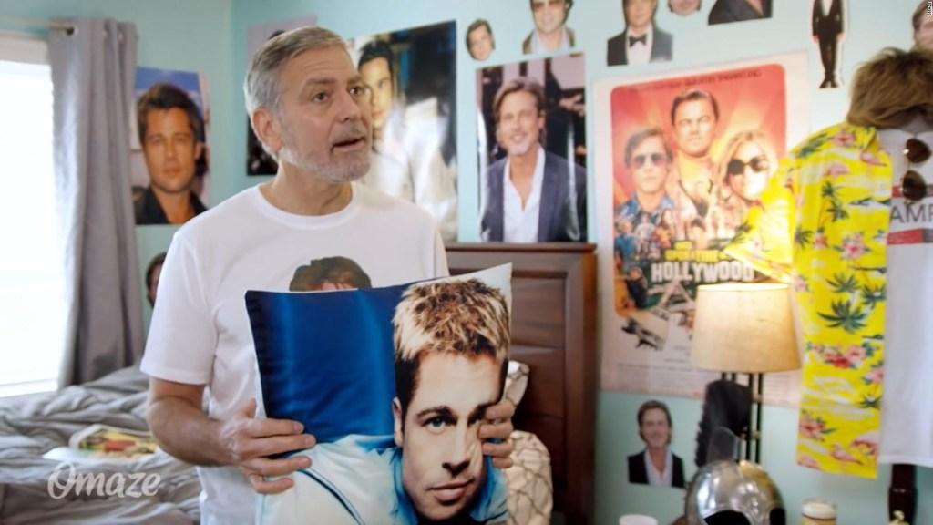 El día en que George Clooney se volvió fan de Brad Pitt