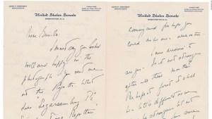 Rematan cartas de amor de John F. Kennedy