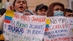 Activista: Lo que vive Colombia es una tragedia mundial