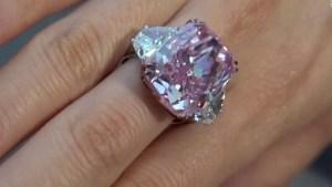Un raro diamante rosa podría valer US$ 38 millones