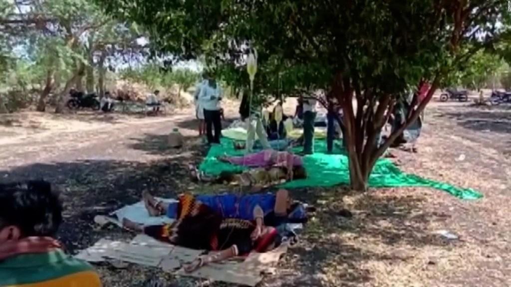 La pandemia sigue impactando en la India
