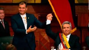 Lenín Moreno y la ruptura con Rafael Correa