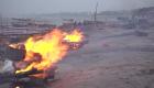 Desgarrador recorrido por las cremaciones masivas en la India