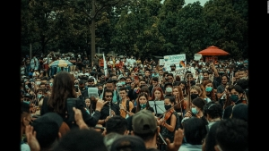 Así surgió la idea de protestar con orquesta en Colombia