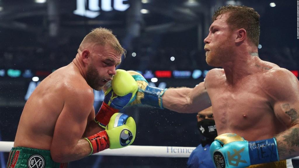 Canelo vs. Saunders: el británico sufre lesiones severas