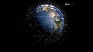 La NASA utiliza escudo para repeler la basura espacial