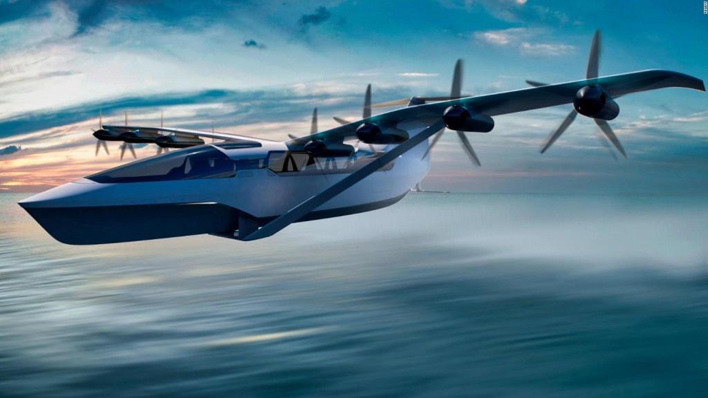 Descubre la nueva forma de volar sobre el agua