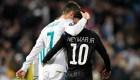El guiño de Neymar a Cristiano Ronaldo